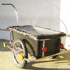 Велоприцеп грузовой (из нержавеющей стали)